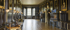 The Long Gallery at Ham House, Richmond-upon-Thames, Surrey.