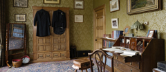 The Dressing Room for Tommy Robartes's Bedroom at Lanhydrock, Cornwall.